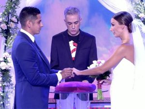 Fani y Christofer se casan en directo en 'Sálvame'