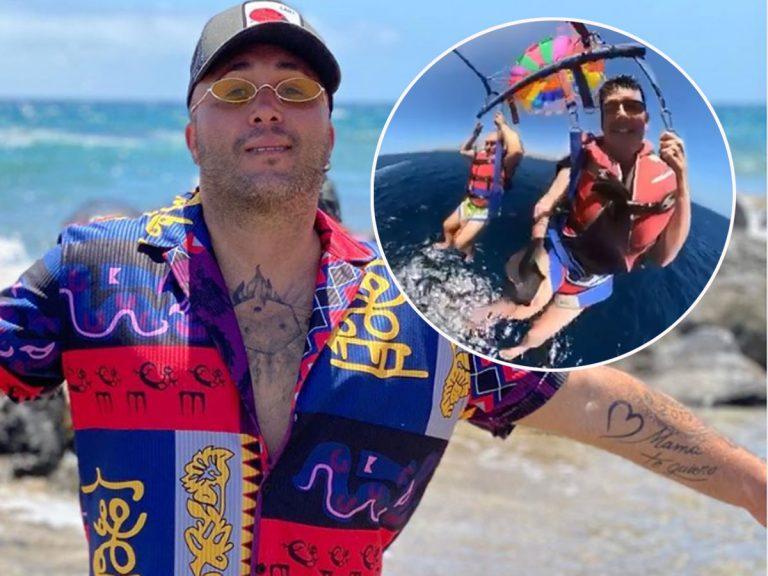 El desternillante vídeo de Kiko Rivera sufriendo un ataque de pánico en parapente