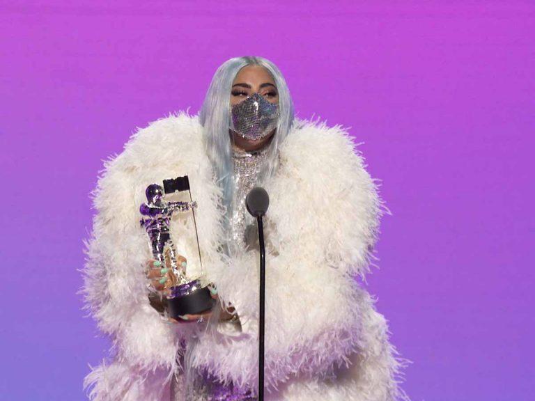 Las mascarillas de Lady Gaga: las auténticas ganadoras de los premios MTV Video Music Awards