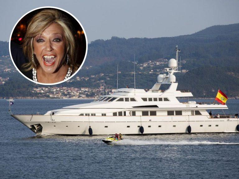 Así es el barco de 7 millones de euros en el que Lydia Lozano pasa sus vacaciones