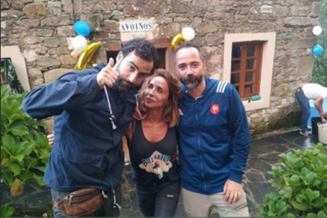 El inolvidable cumpleaños de María Patiño: sorprendida por sus hermanos
