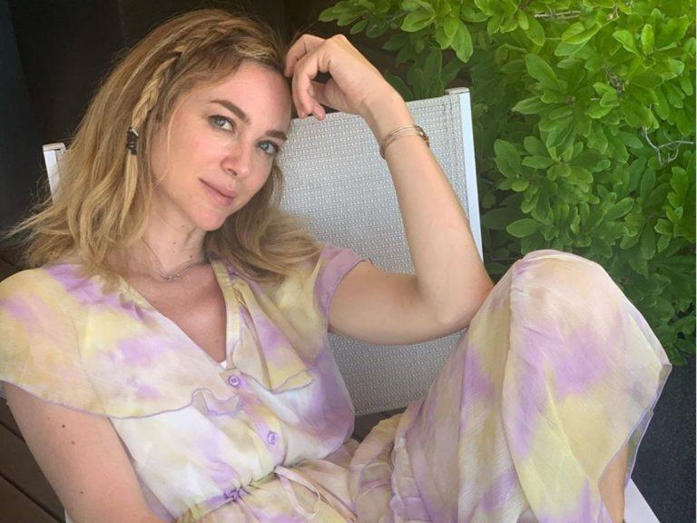 Marta Hazas se llena de oro en el tratamiento de belleza más glamuroso