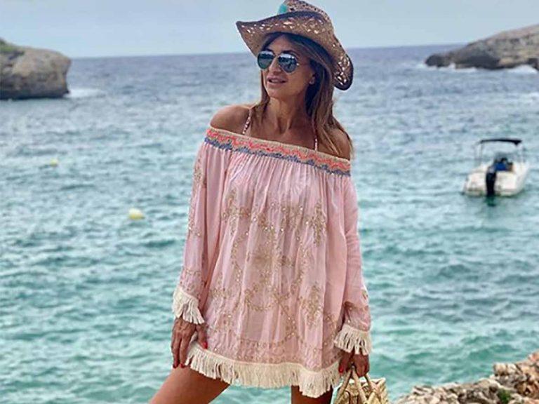 Gema López despide las vacaciones con el vestido comodín del verano de 20 euros