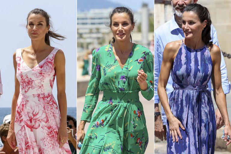 La maleta de la reina Letizia: todos sus 'looks' de su gira por España