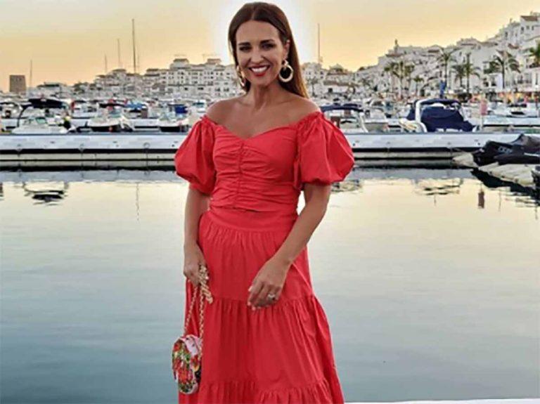 El look playero de Paula Echevarría con complementos de más de 3.000 euros