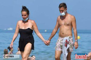 Ana Milán disfruta de unas apasionadas vacaciones con su novio en Cádiz