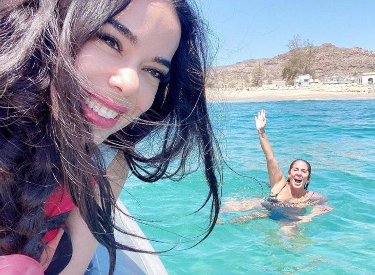 ¿Qué hacen Anabel Pantoja y Beatriz Luengo juntas en Canarias?