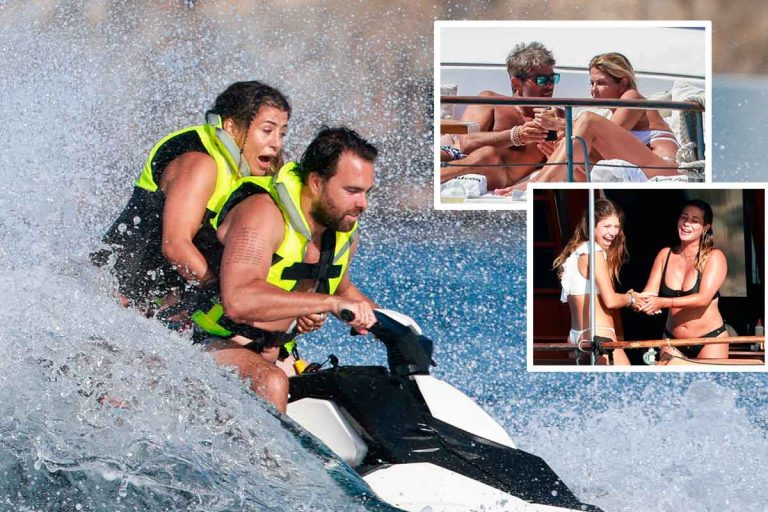 ¿Qué hace Elena Tablada en un yate con Makoke y Anita Matamoros por Ibiza?
