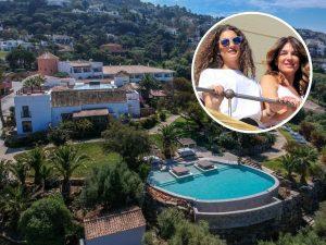 Así es el hotel donde están pasando las vacaciones Raquel Bollo y su hija Alma Cortés