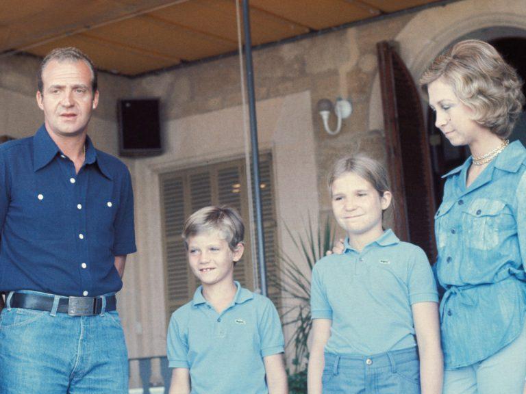 """Vídeo viral: así responden sus hijos cuando el Rey Juan Carlos dice """"ir a trabajar"""""""