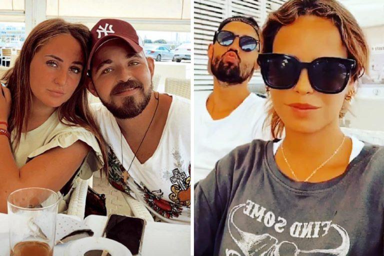 La escapada familiar de Gloria Camila, Rocío y David Flores a Chipiona