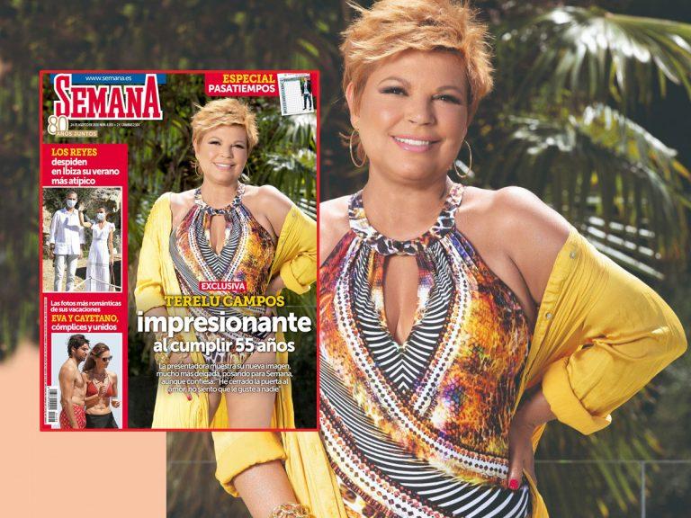 En exclusiva, Terelu Campos posa impresionante al cumplir los 55 años