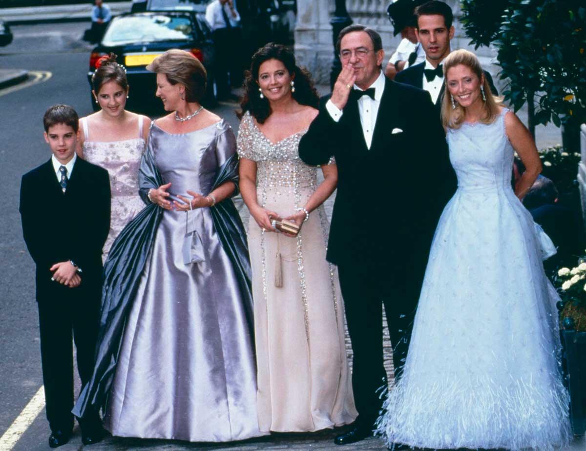 familia real de grecia