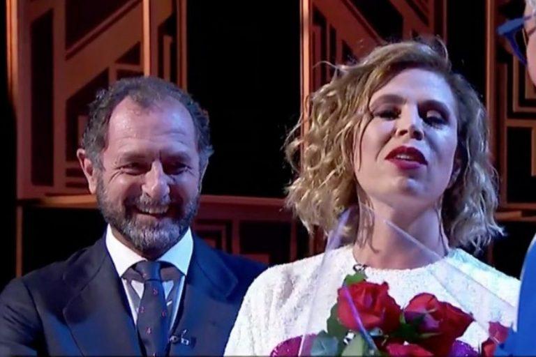 Luis Gasset, novio de Ágatha Ruiz de la Prada, por primera vez en un plató de televisión: «Estoy feliz»