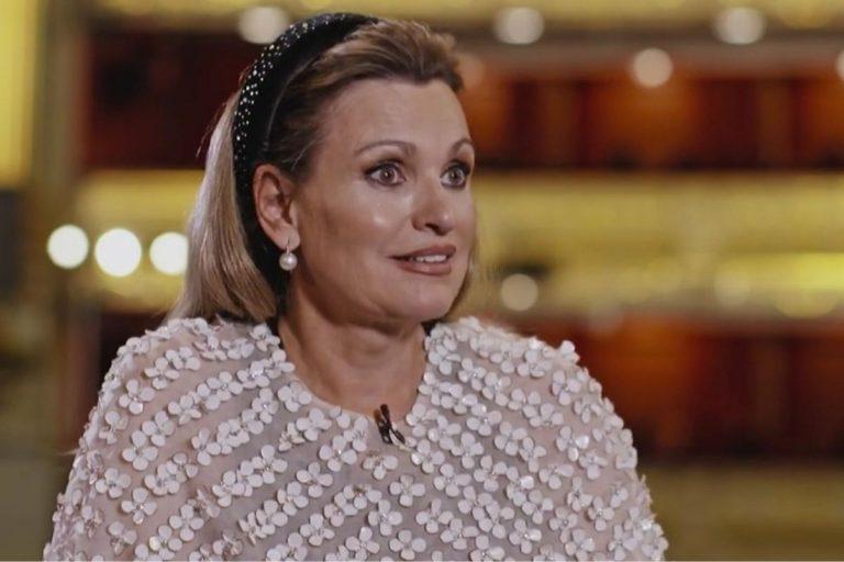 Ainhoa Arteta salta cuando la comparan con Liz Taylor y habla de sus cuatro maridos