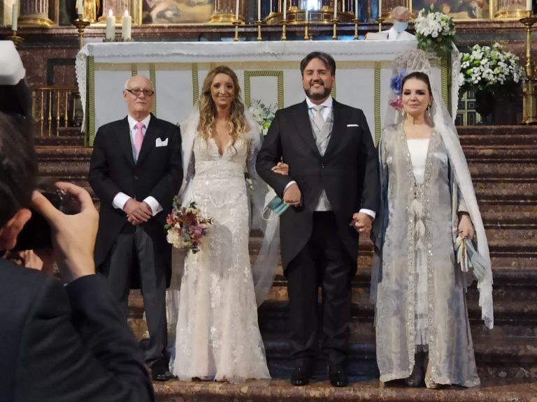 María José Cantudo nos abre el álbum de la emotiva boda de su hijo