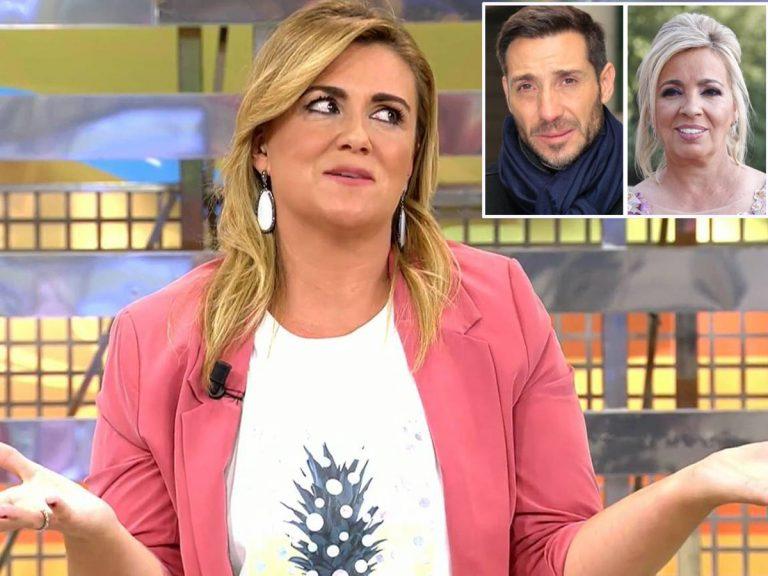 El mensaje de Carlota Corredera a Carmen Borrego y Antonio David Flores en plena guerra