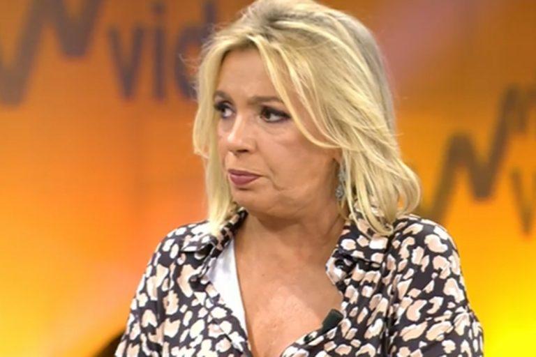 Carmen Borrego responde a los ataques: «Jamás me quitaron a mis hijos»