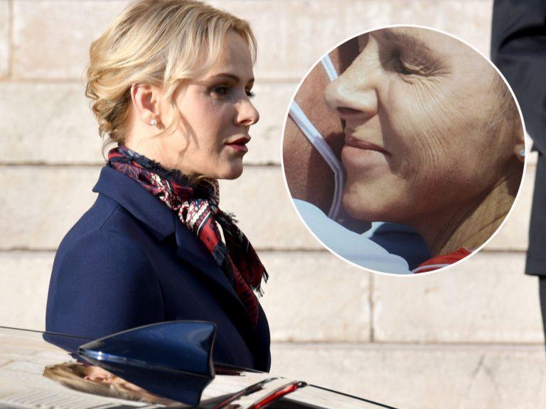 La princesa Charlène de Mónaco reaparece envejecida: ¿el fin de sus constantes retoques?