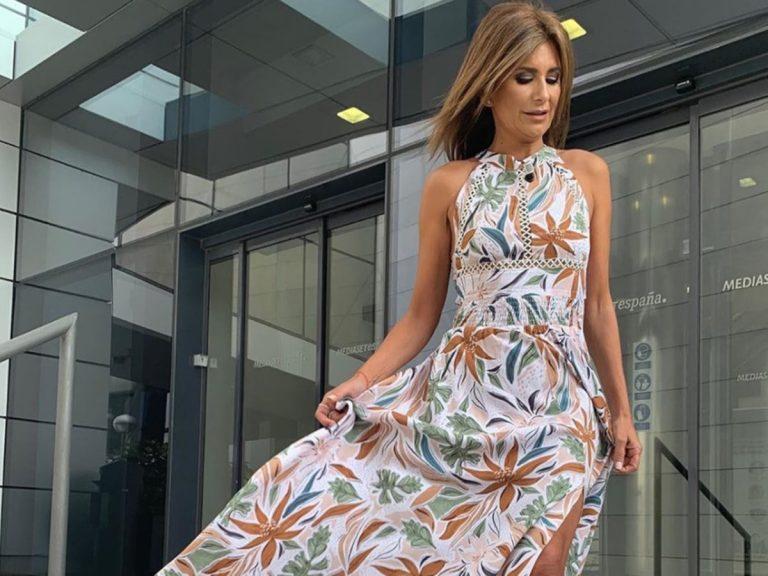 El vestido de Gema López que demuestra que «aún quedan días de verano»