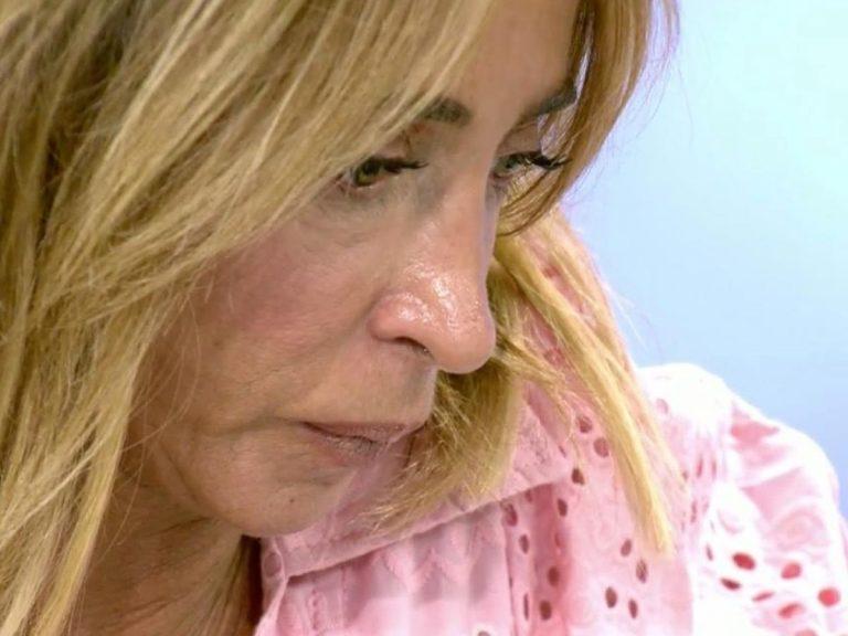 María Patiño rompe a llorar tras un reproche de Mila Ximénez sobre su cáncer