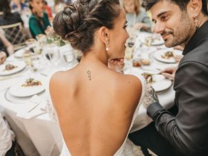 El emotivo mensaje de la mujer de Melendi en su primer aniversario de boda