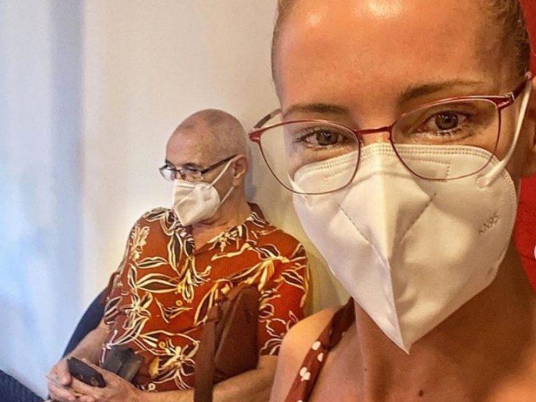 Paula Vázquez, el mejor apoyo de su padre en su lucha contra el cáncer