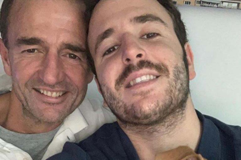 Alessandro Lequio infunde energía con el último recuerdo a su hijo Álex