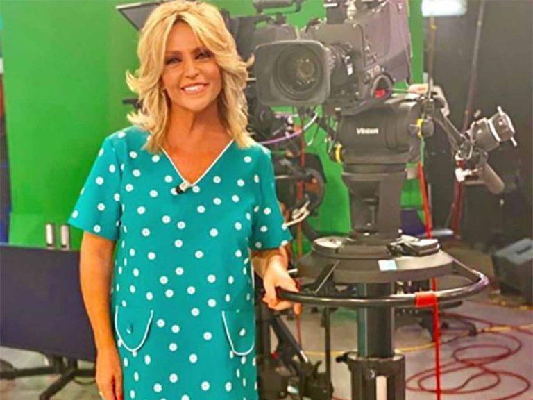 El primer vestido de nueva temporada de Lydia Lozano ¡nos encanta!