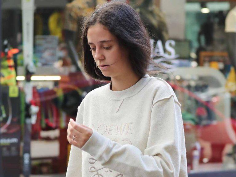 Victoria Federica acude a clase con un bolso de más de 1.000 euros