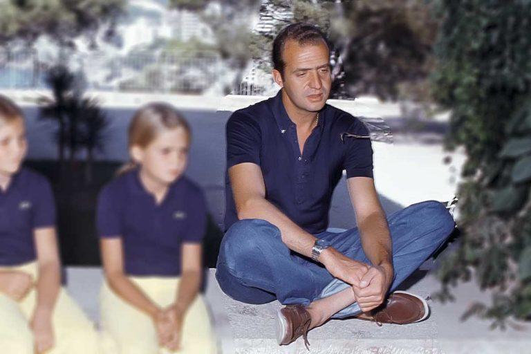 ¿Te sorprendió el look barbacoa?: Mira estos increíbles estilismos del Rey Juan Carlos