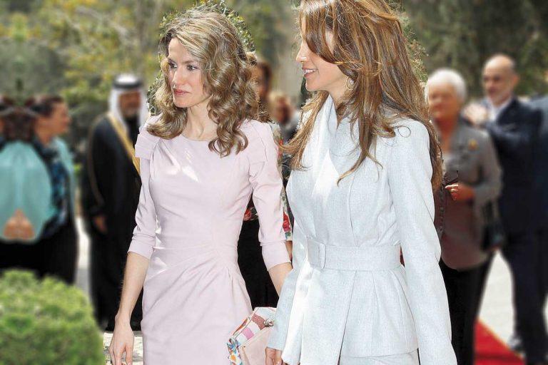 Letizia y Rania, dos reinas con estilos gemelos (o casi)