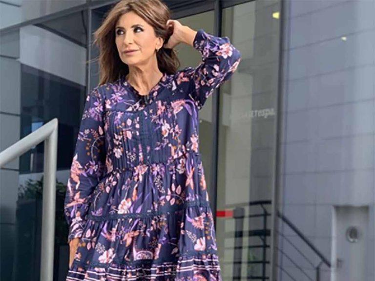El vestido con el que Gema López sale de su zona de confort