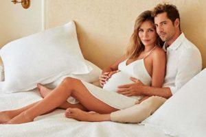 Las espectaculares fotos del embarazo de Rosanna Zanetti