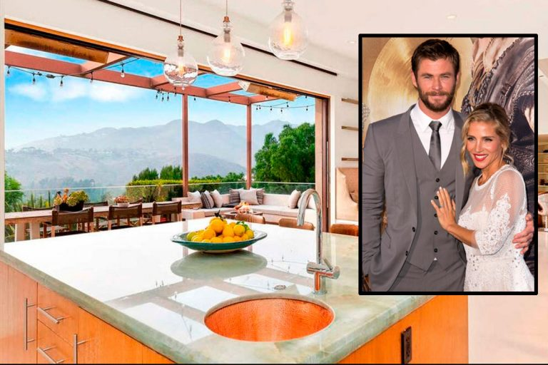 Elsa Pataky y Chris Hemsworth venden su casa de Malibú por 4 millones de euros