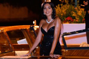 Georgina Rodríguez, más explosiva que nunca, sorprende en el Festival de Venecia
