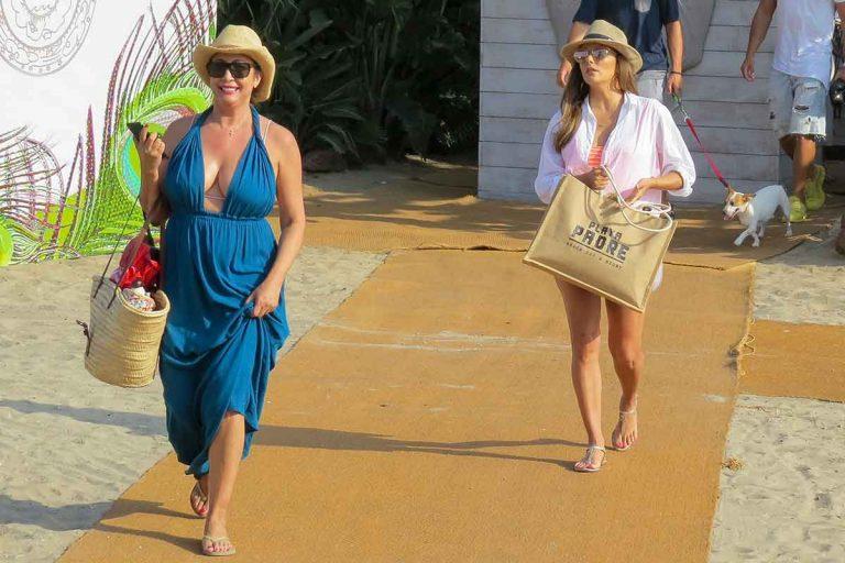 Se incendia el chiringuito 'Playa Padre' en Marbella, el favorito de Eva Longoria