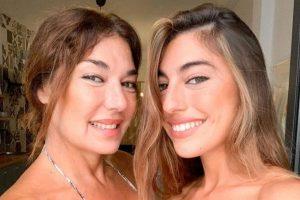 Claudia, la hija de Raquel Revuelta, en urgencias el día más importante de su madre