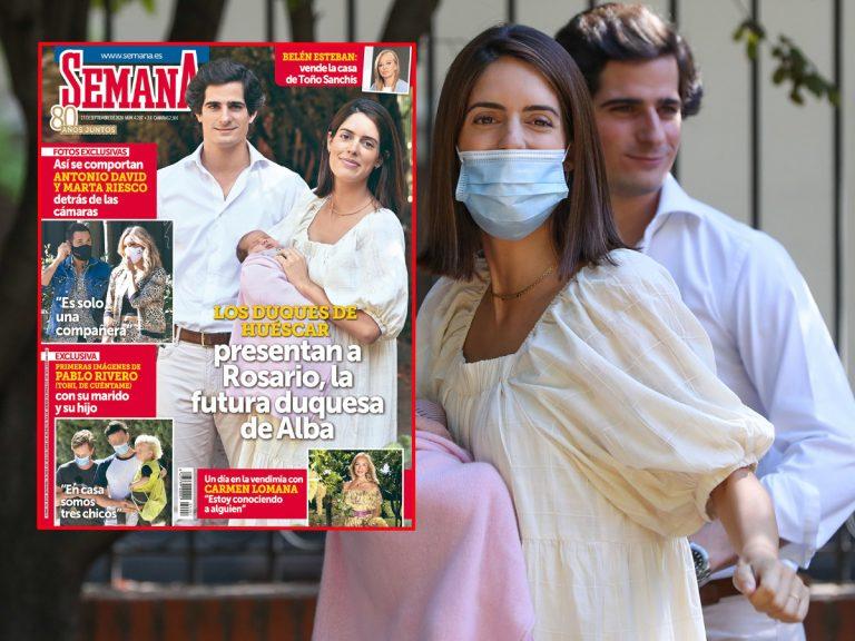 En SEMANA, los duques de Huéscar presentan a Rosario, la futura duquesa de Alba