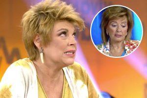 Las lágrimas de Terelu Campos al ver el dolor de María Teresa Campos al hablar de Edmundo Arrocet
