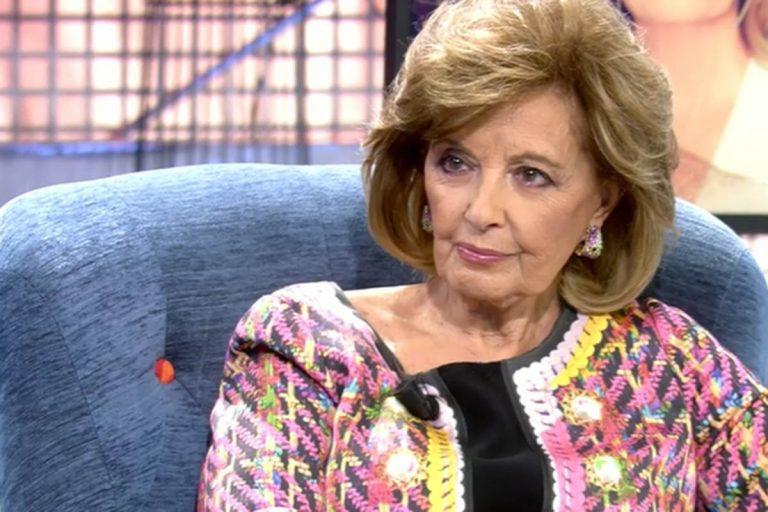 La entrevista más desconcertante de María Teresa Campos con amenaza de abandono incluida