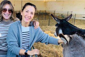 Nagore Robles y Sandra Barneda desconectan de la rutina en una granja ecológica