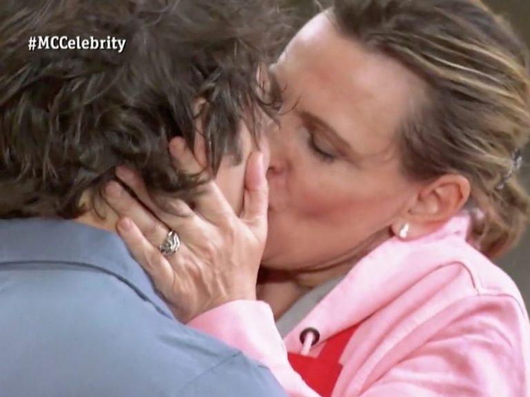 'MasterChef Celebrity 5': El apasionado beso de Ainhoa Arteta a Jordi Cruz