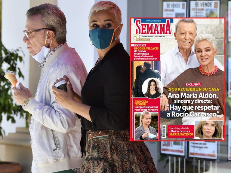 En SEMANA, Ana María Aldón, sincera y directa: «Hay que respetar a Rocío Carrasco»