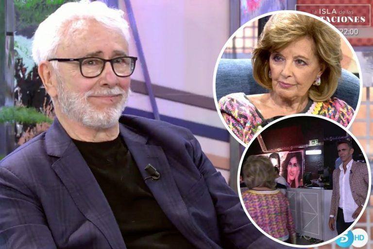 Andrés Caparrós, muy duro con María Teresa Campos: «No mirar a mi hijo fue un gesto indigno»
