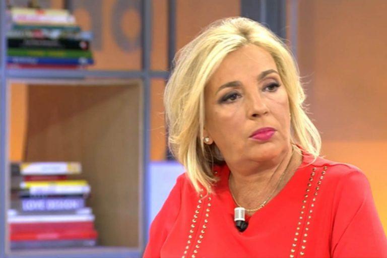 Carmen Borrego habla de la demanda de María Teresa Campos y el reloj regalado a Terelu Campos