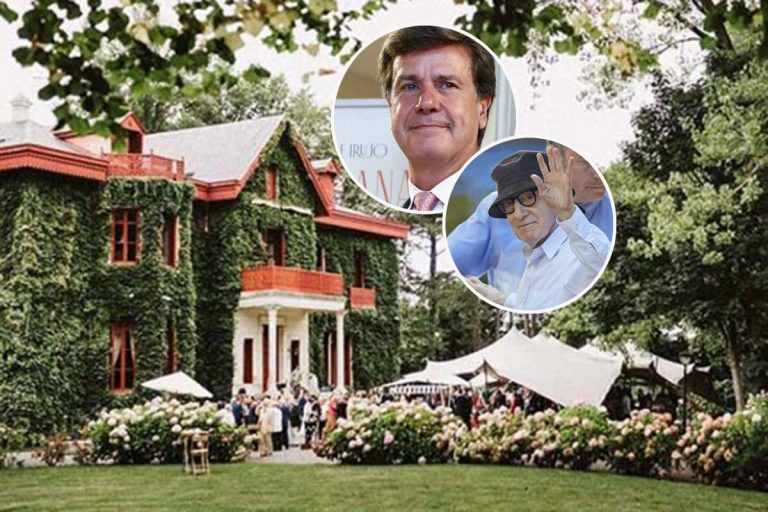 Así es Arbaizenea, el palacio de Cayetano Martínez de Irujo en el que Woody Allen ha grabado una película