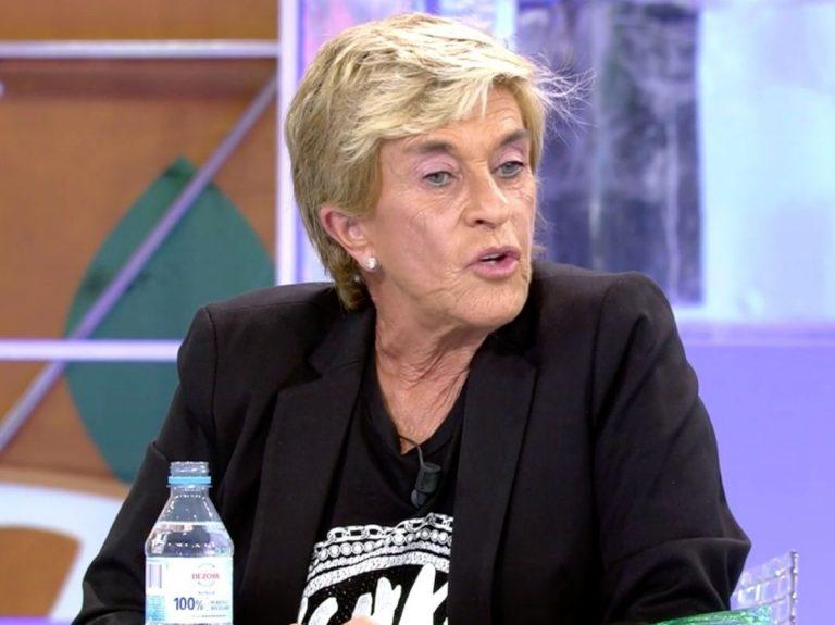 Chelo García Cortés, primera concursante de «Quiero dinero»: «No quiero defraudar»