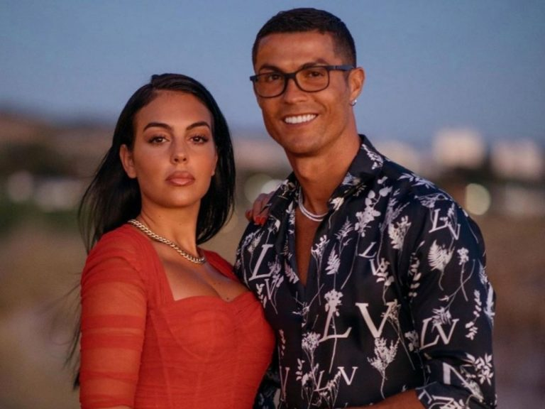 El mensaje de Georgina Rodríguez a Cristiano Ronaldo tras dar positivo por coronavirus