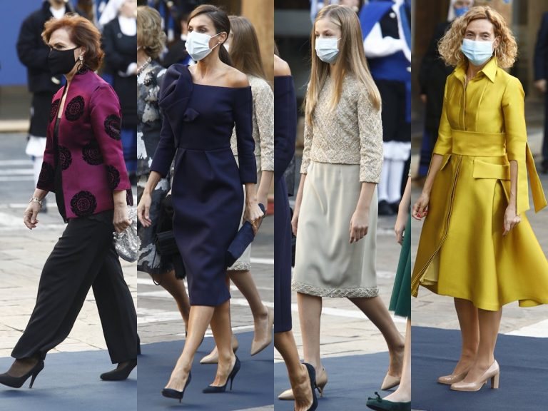 Las mejor y peor vestidas de la atípica alfombra azul de los Premios Princesa de Asturias